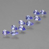 thumb image of 2ct Pear Facet Violet Blue Tanzanite (ID: 454016)