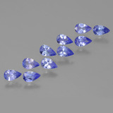 thumb image of 2ct Pear Facet Violet Blue Tanzanite (ID: 454020)