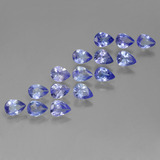 thumb image of 3.3ct Pear Facet Violet Blue Tanzanite (ID: 454069)
