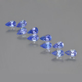 thumb image of 1.9ct Pear Facet Violet Blue Tanzanite (ID: 454125)