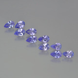 thumb image of 2.2ct Pear Facet Violet Blue Tanzanite (ID: 454160)