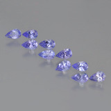 thumb image of 2.3ct Pear Facet Violet Blue Tanzanite (ID: 454162)