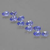 thumb image of 1.9ct Pear Facet Violet Blue Tanzanite (ID: 454192)