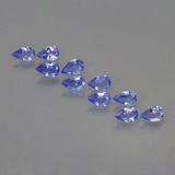 thumb image of 1.9ct Pear Facet Violet Blue Tanzanite (ID: 454194)