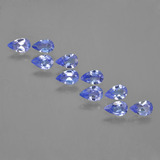 thumb image of 1.7ct Pear Facet Violet Blue Tanzanite (ID: 454196)