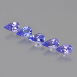 thumb image of 1.2ct Pear Facet Violet Blue Tanzanite (ID: 454237)