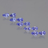 thumb image of 2.6ct Pear Facet Violet Blue Tanzanite (ID: 454281)