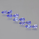 thumb image of 2ct Pear Facet Violet Blue Tanzanite (ID: 454286)