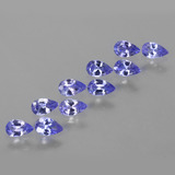 thumb image of 2.2ct Pear Facet Violet Blue Tanzanite (ID: 454333)