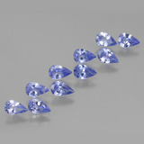 thumb image of 2ct Pear Facet Violet Blue Tanzanite (ID: 454399)