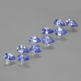 thumb image of 2.2ct Pear Facet Violet Blue Tanzanite (ID: 454401)