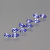 thumb image of 2.2ct Pear Facet Violet Blue Tanzanite (ID: 454443)