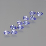 thumb image of 1.9ct Pear Facet Violet Blue Tanzanite (ID: 454446)