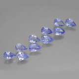 thumb image of 1.8ct Pear Facet Violet Blue Tanzanite (ID: 462559)