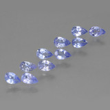 thumb image of 0.2ct Pear Facet Violet Blue Tanzanite (ID: 462561)