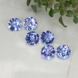 thumb image of 1.4ct Round Facet Violet Blue Tanzanite (ID: 468288)