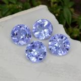 thumb image of 1.1ct Round Facet Violet Blue Tanzanite (ID: 468982)