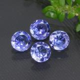 thumb image of 1ct Facette ronde Violet Bleu Tanzanite (ID: 468985)