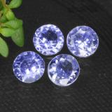 thumb image of 1.1ct Round Facet Violet Blue Tanzanite (ID: 468990)