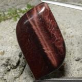 thumb image of 49.2ct Fancy Cabochon Multicolor Tiger's Eye Matrix (ID: 322581)