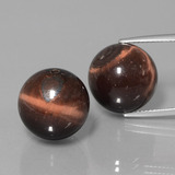 thumb image of 37.2ct Drilled Sphere Multicolor Tiger's Eye Matrix (ID: 422952)