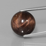 thumb image of 19.1ct Drilled Sphere Multicolor Tiger's Eye Matrix (ID: 422970)