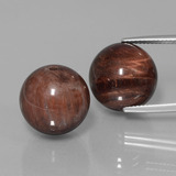thumb image of 41.4ct Drilled Sphere Multicolor Tiger's Eye Matrix (ID: 422975)