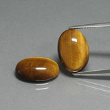 thumb image of 9ct Oval Cabochon Gold Brown Tiger's Eye (ID: 396888)