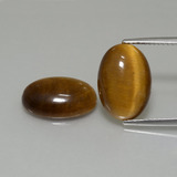 thumb image of 9ct Oval Cabochon Gold Brown Tiger's Eye (ID: 396977)
