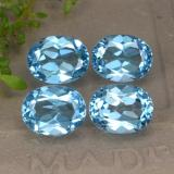 thumb image of 9.4ct Oval Facet Swiss Blue Topaz (ID: 293098)