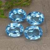 thumb image of 9.4ct Oval Facet Swiss Blue Topaz (ID: 293105)