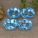 thumb image of 10.7ct Oval Facet Swiss Blue Topaz (ID: 293134)