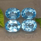 thumb image of 10.5ct Oval Facet Swiss Blue Topaz (ID: 293136)