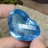 thumb image of 137.7ct Heart Checkerboard Swiss Blue Topaz (ID: 345355)