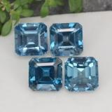 thumb image of 7.1ct Octagon Facet London Blue Topaz (ID: 372395)