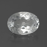 thumb image of 7.4ct Oval Facet White Topaz (ID: 384775)