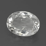 thumb image of 7.7ct Oval Facet White Topaz (ID: 384780)