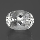 thumb image of 9.5ct Oval Facet White Topaz (ID: 384781)