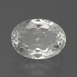 thumb image of 7.4ct Oval Facet White Topaz (ID: 384785)