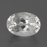 thumb image of 9.4ct Oval Facet White Topaz (ID: 384786)