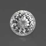 thumb image of 4.1ct Round Facet Clear White Topaz (ID: 384909)
