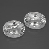 thumb image of 6.5ct Oval Facet White Topaz (ID: 385013)