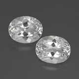 thumb image of 6.7ct Oval Facet White Topaz (ID: 385014)