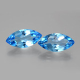 thumb image of 7.8ct Marquise Facet Swiss Blue Topaz (ID: 385409)