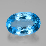 thumb image of 107.6ct Oval Facet Swiss Blue Topaz (ID: 385705)