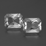 thumb image of 6.9ct Octagon Facet White Topaz (ID: 386586)