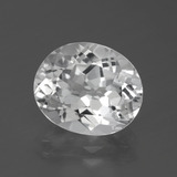 thumb image of 5.6ct Oval Facet White Topaz (ID: 387073)