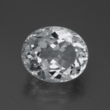 thumb image of 6.7ct Oval Facet White Topaz (ID: 387288)