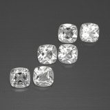 thumb image of 0.5ct Cushion-Cut White Topaz (ID: 387579)