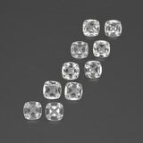 thumb image of 0.5ct Cushion-Cut White Topaz (ID: 387604)